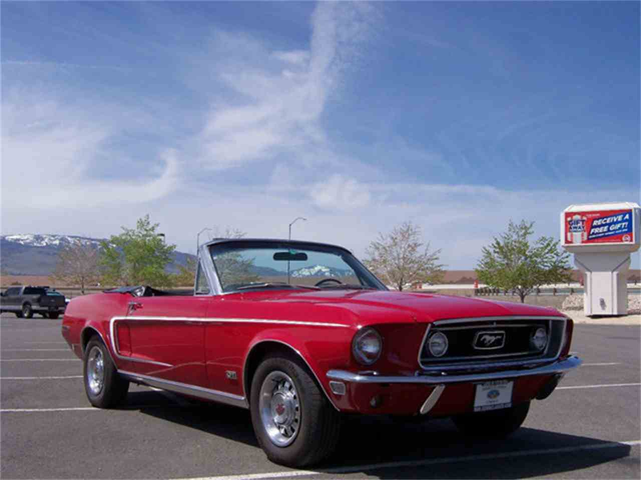 1968 ford mustang gt for sale cc 836213. Black Bedroom Furniture Sets. Home Design Ideas