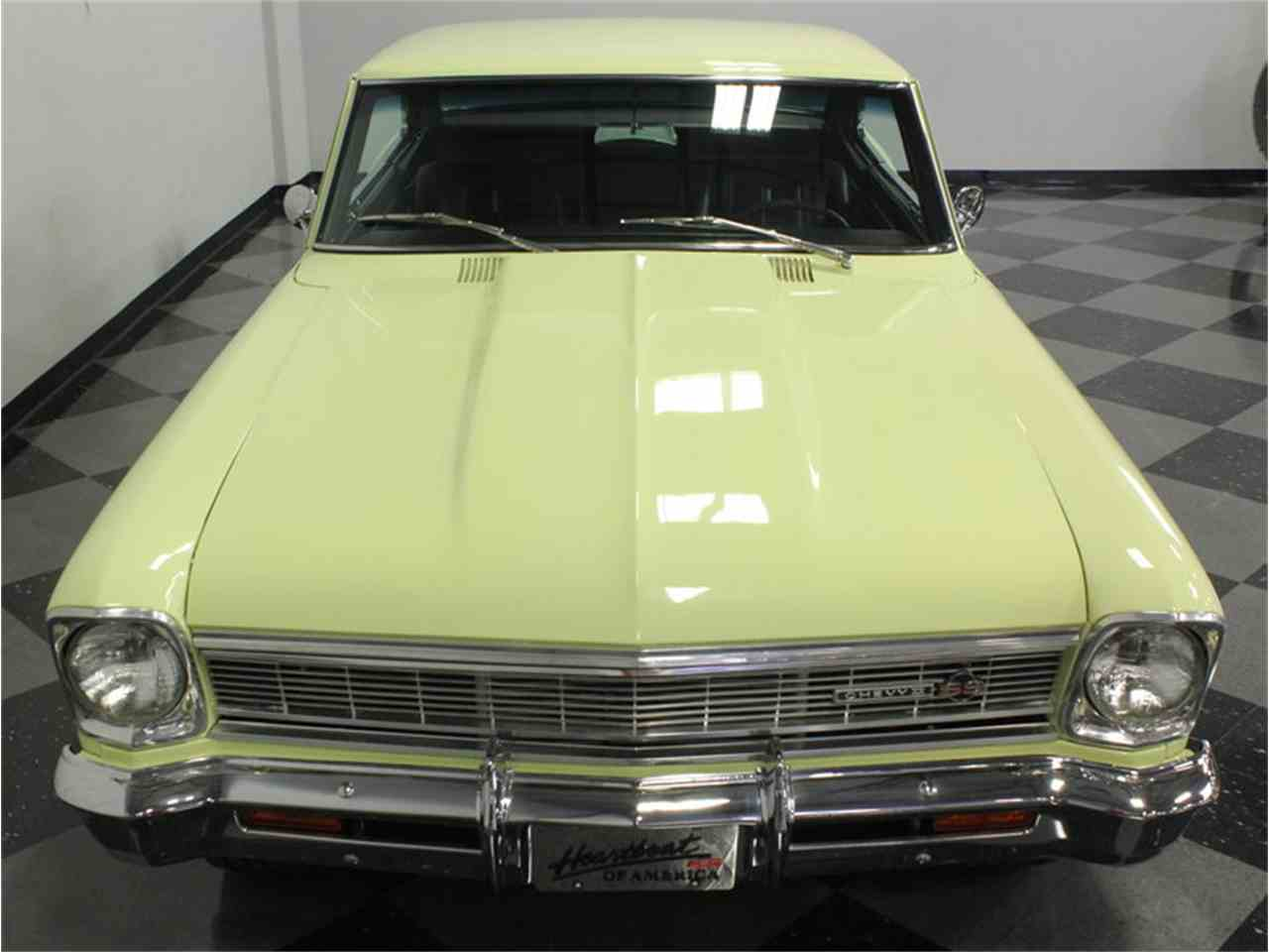 Large Picture of Classic '66 Nova Offered by Streetside Classics - Dallas / Fort Worth - HX89
