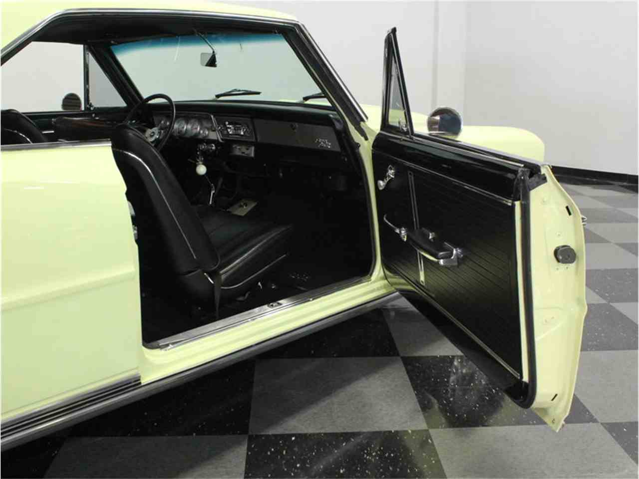 Large Picture of Classic 1966 Nova located in Ft Worth Texas Offered by Streetside Classics - Dallas / Fort Worth - HX89