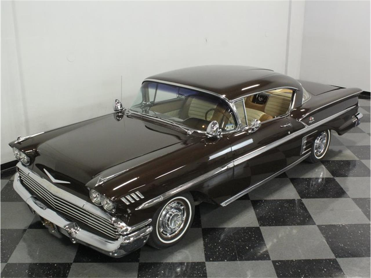 Large Picture of Classic '58 Chevrolet Impala located in Texas - $44,995.00 Offered by Streetside Classics - Dallas / Fort Worth - HX8B