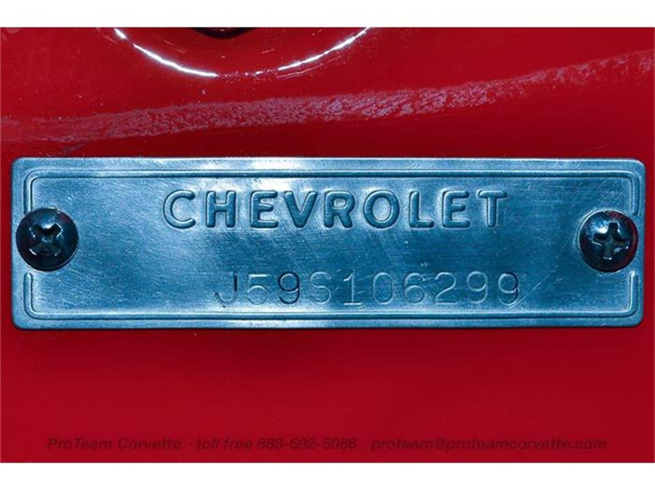 Large Picture of Classic '59 Chevrolet Corvette Offered by Proteam Corvette Sales - HY1K