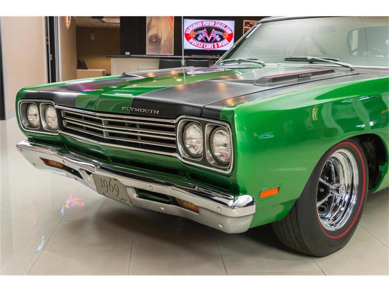 Large Picture of Classic 1969 Plymouth Road Runner located in Plymouth Michigan - HYAT
