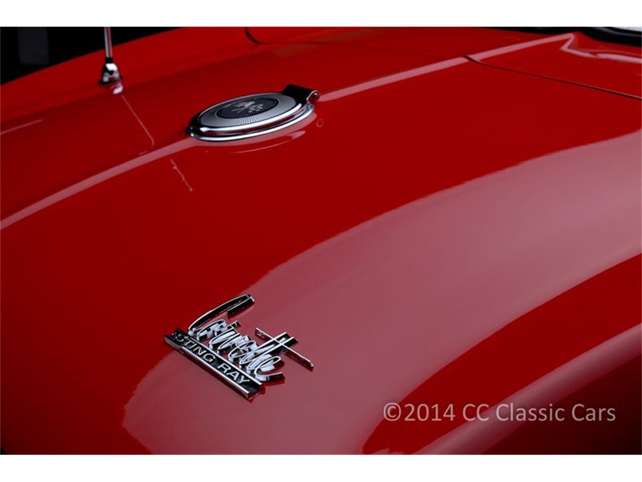 Large Picture of '66 Corvette located in Pennsylvania Auction Vehicle Offered by CC Classic Cars - HZ0A