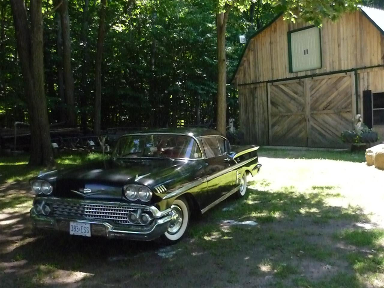 For Sale 1958 Chevrolet Impala In Perth Ontario