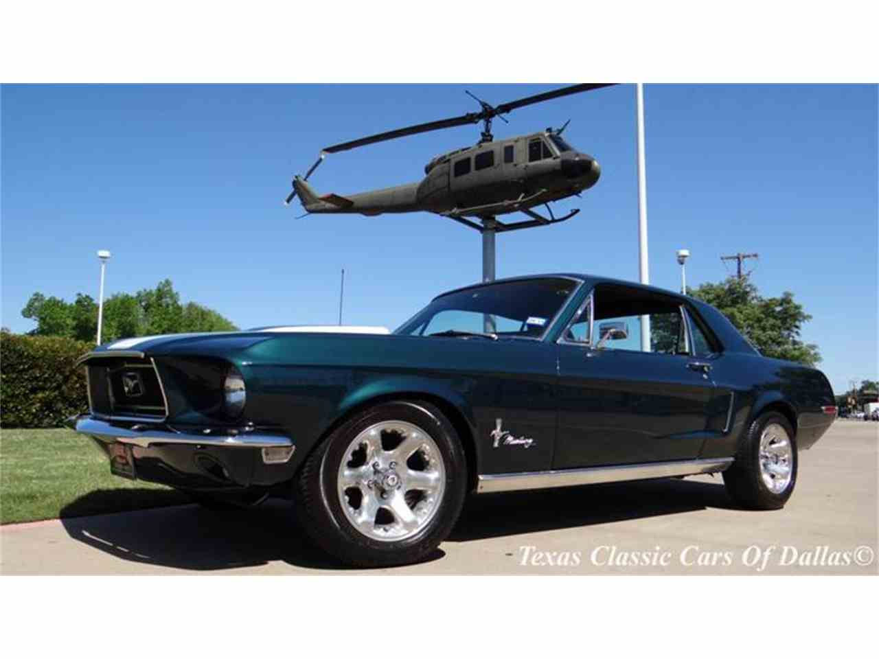1968 Ford Mustang for Sale   ClassicCars.com   CC-839064