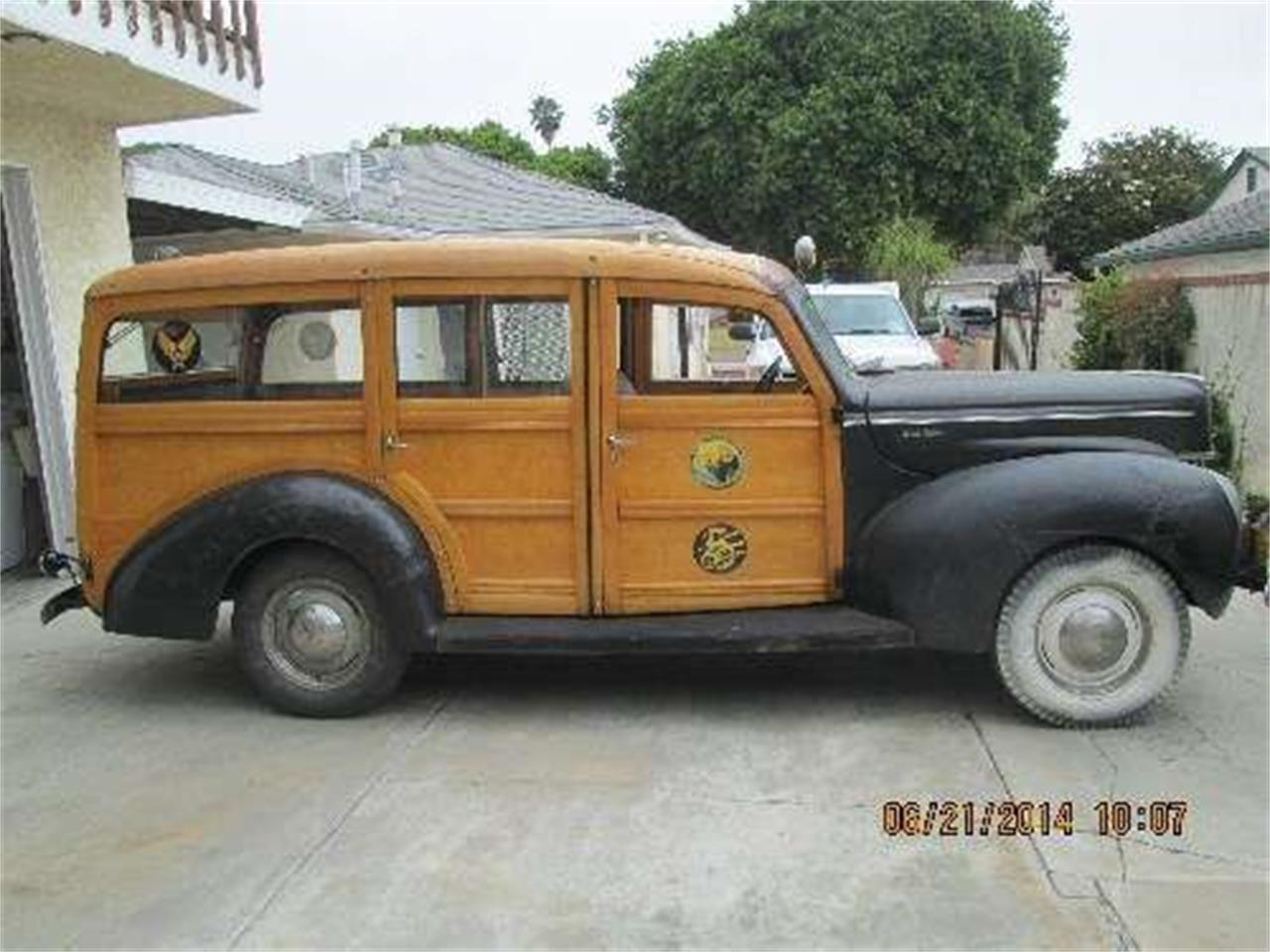 Large Picture of Classic '40 Woody Wagon located in Cadillac Michigan - HZHM