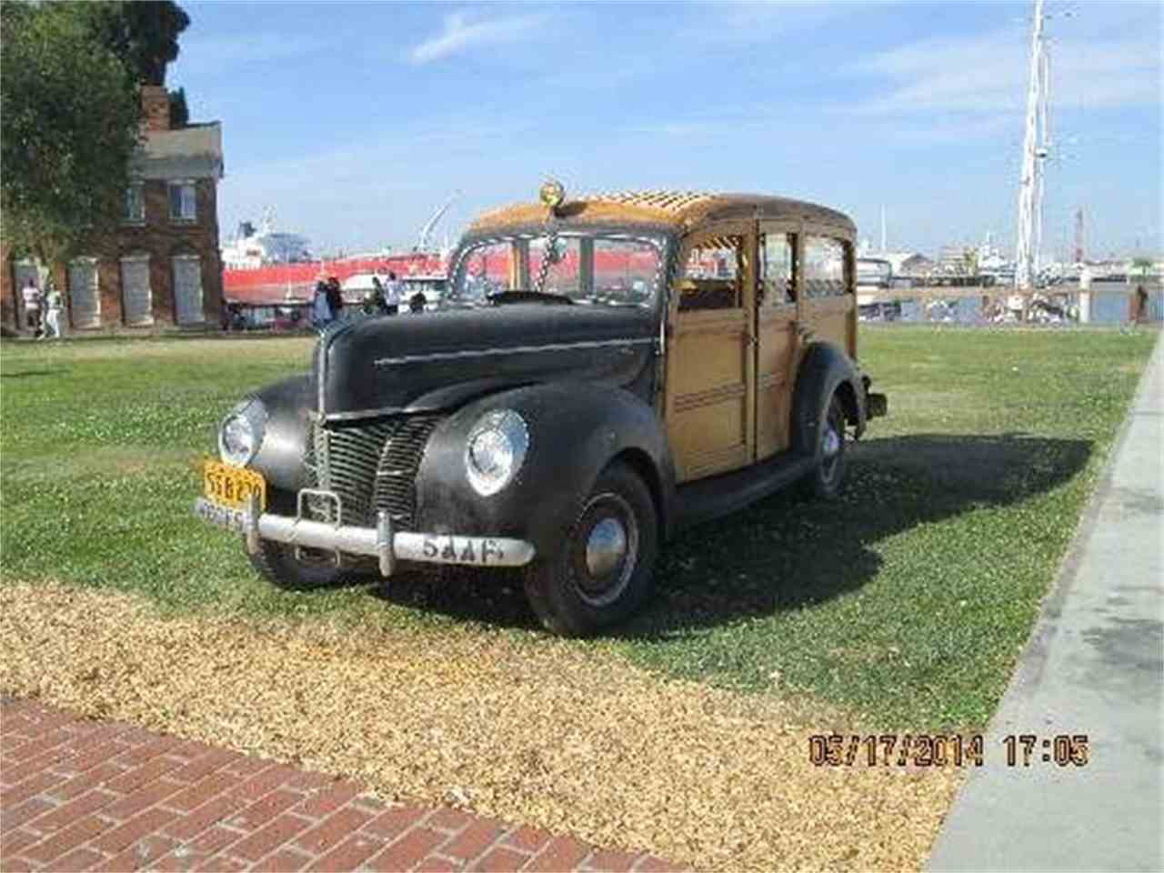 Large Picture of '40 Ford Woody Wagon - HZHM
