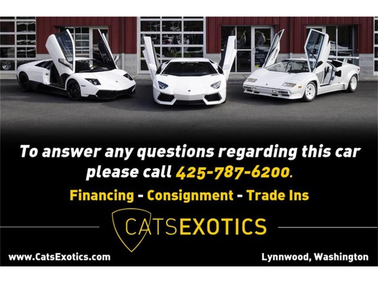 Large Picture of '98 Lamborghini Diablo Auction Vehicle Offered by Cats Exotics - HZIS