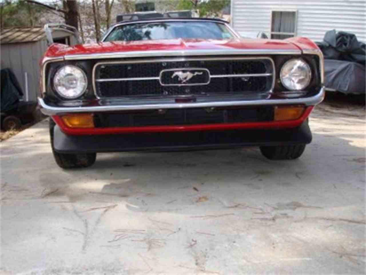 Large Picture of '72 Mustang - HZOB