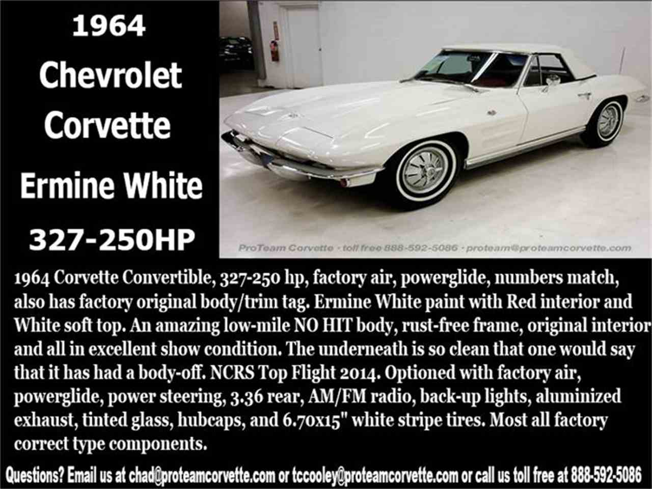 Large Picture of '64 Corvette - I097