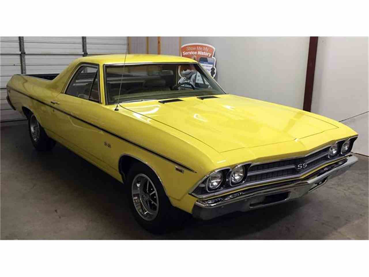 Large Picture of Classic 1969 Chevrolet El Camino SS 396 Offered by Muscle Car Jr - I1KN