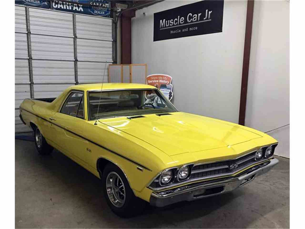 Large Picture of 1969 Chevrolet El Camino SS 396 Offered by Muscle Car Jr - I1KN