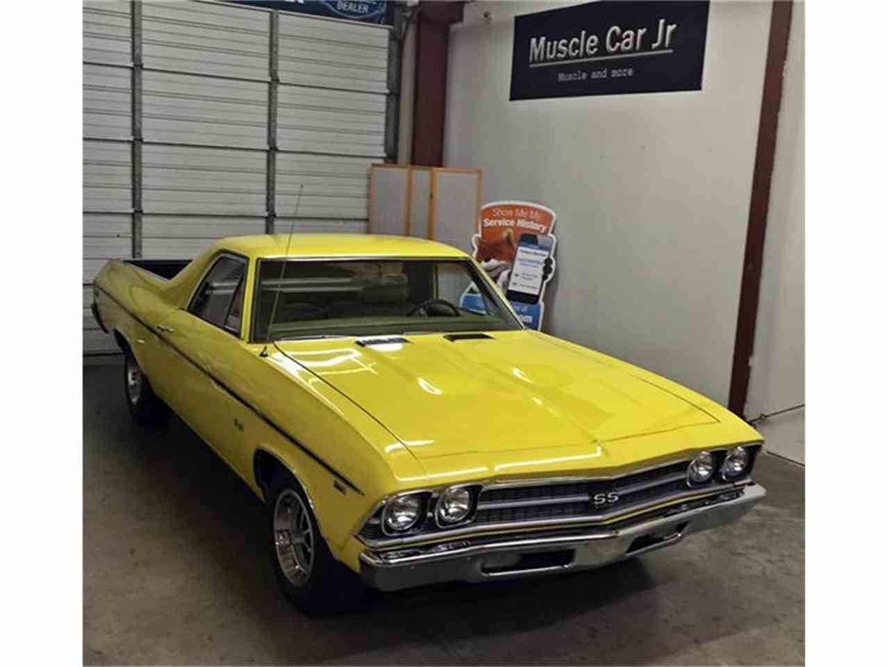 Large Picture of Classic 1969 El Camino SS 396 located in Georgia Offered by Muscle Car Jr - I1KN