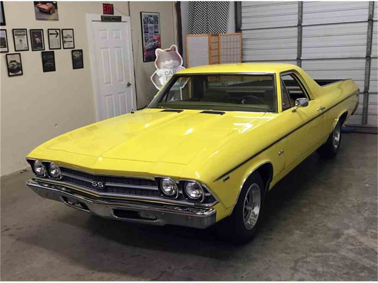 Large Picture of 1969 Chevrolet El Camino SS 396 located in Georgia Offered by Muscle Car Jr - I1KN