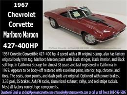 Picture of '67 Corvette - $90,000.00 Offered by Proteam Corvette Sales - I29X