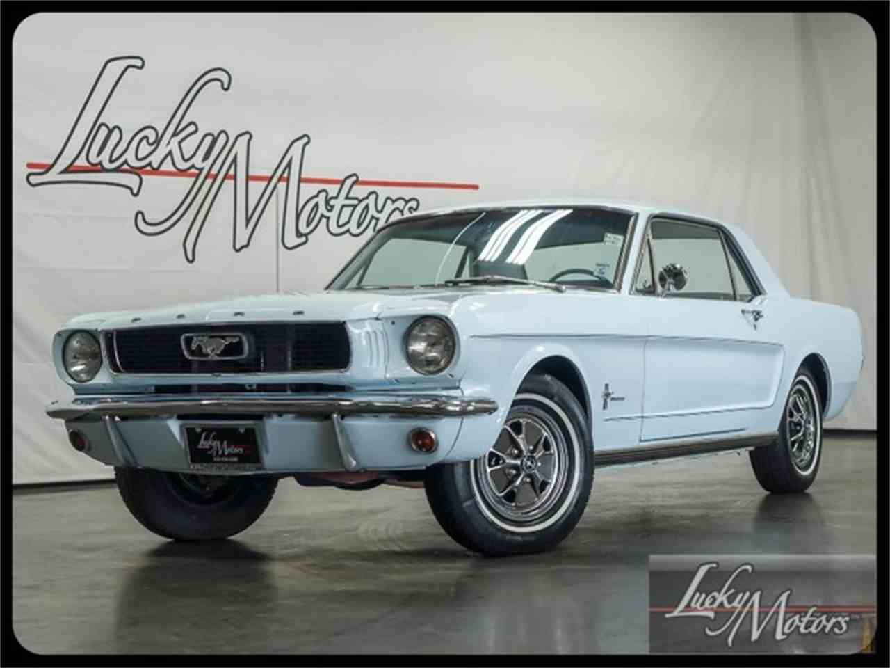 Large Picture of '66 Mustang - I2F6