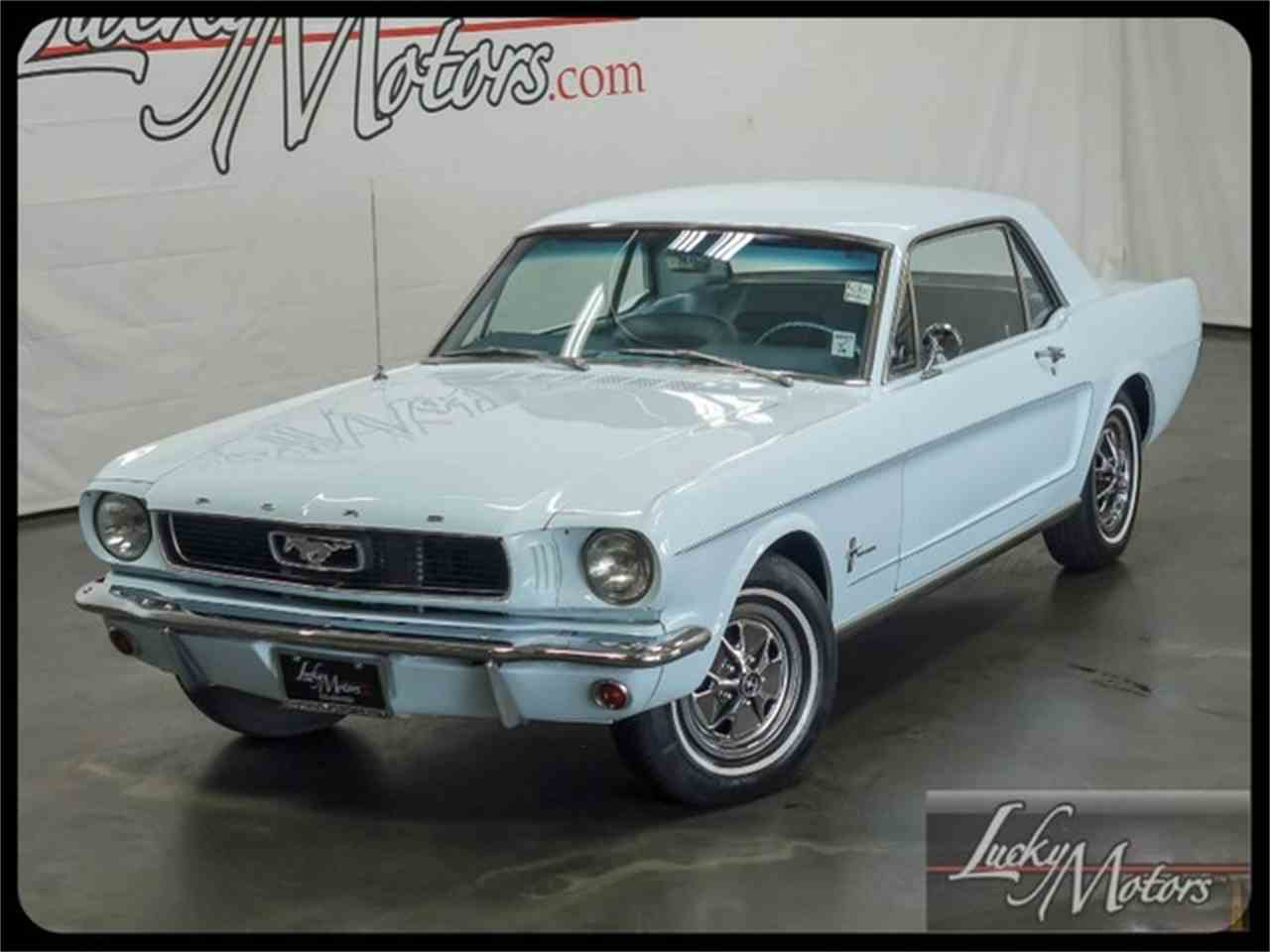 Large Picture of Classic '66 Ford Mustang Offered by Lucky Motors Of Villa Park - I2F6