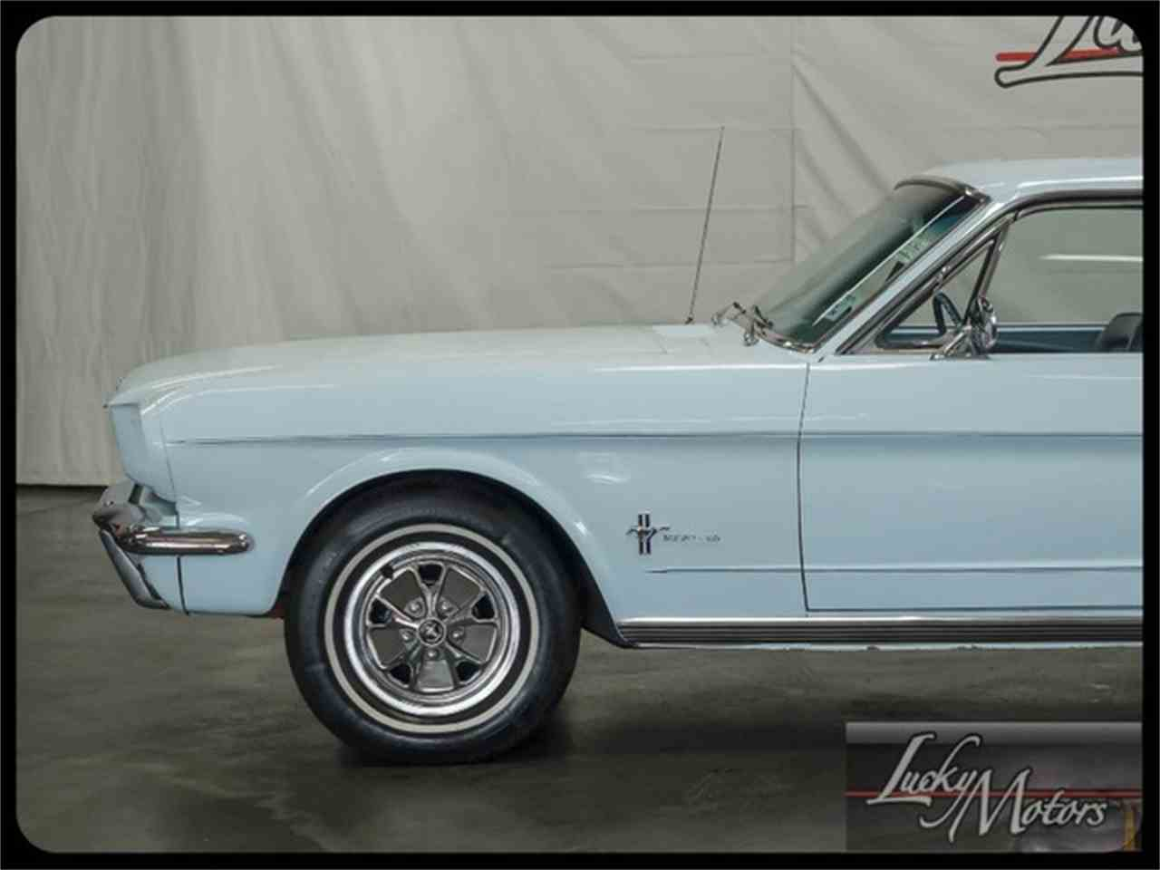 Large Picture of Classic 1966 Mustang Offered by Lucky Motors Of Villa Park - I2F6