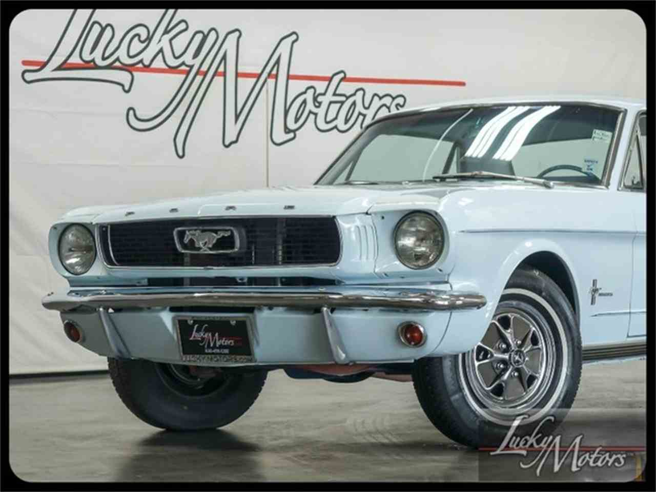 Large Picture of '66 Mustang Offered by Lucky Motors Of Villa Park - I2F6