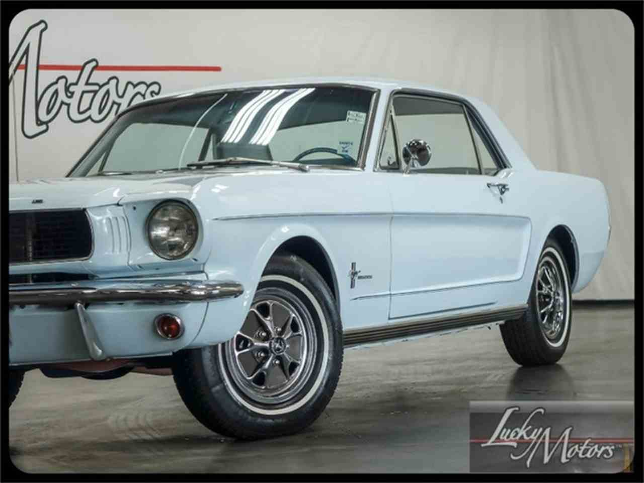 Large Picture of Classic 1966 Mustang located in Illinois Offered by Lucky Motors Of Villa Park - I2F6