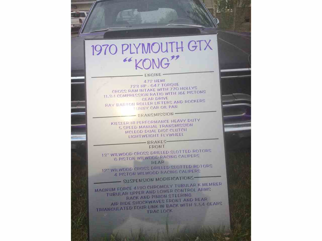 Large Picture of '70 GTX - I0E7