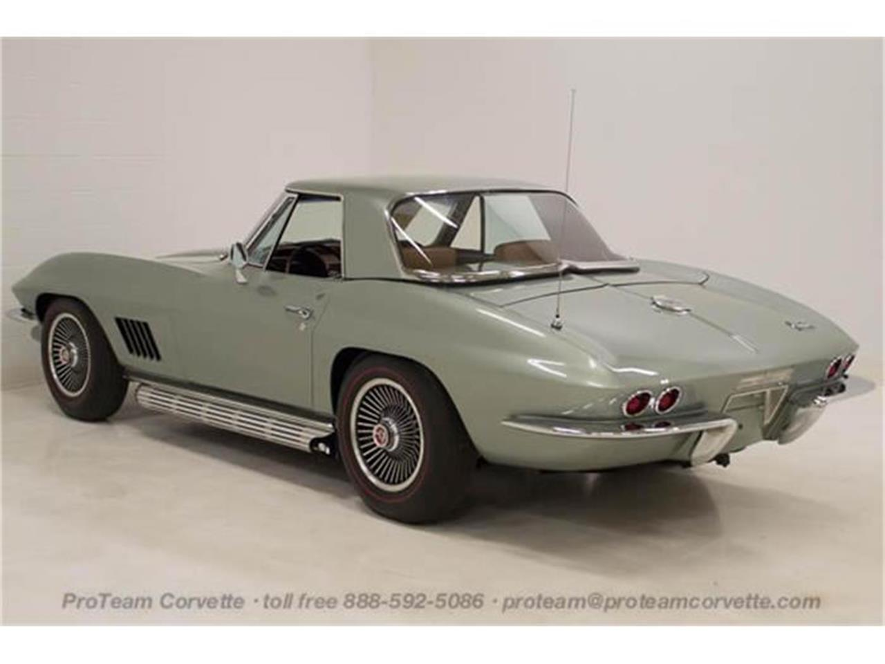 Large Picture of '67 Chevrolet Corvette Offered by Proteam Corvette Sales - I357