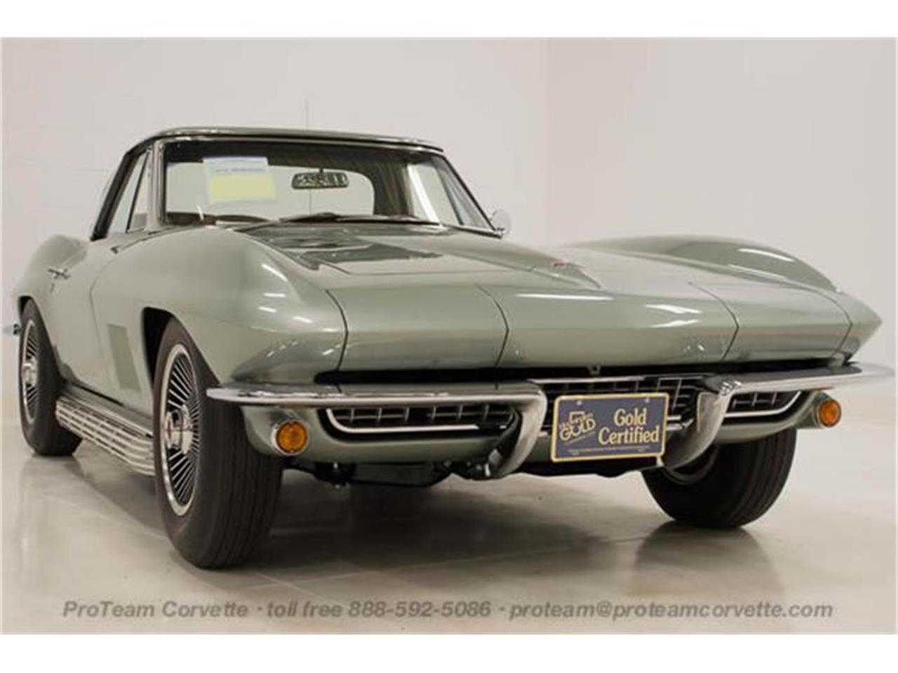 Large Picture of Classic '67 Chevrolet Corvette - $165,000.00 Offered by Proteam Corvette Sales - I357