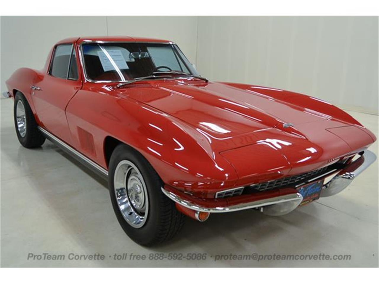 Large Picture of Classic '67 Chevrolet Corvette - $69,998.00 Offered by Proteam Corvette Sales - I35A