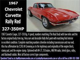 Picture of Classic '67 Corvette located in Napoleon Ohio Offered by Proteam Corvette Sales - I35A