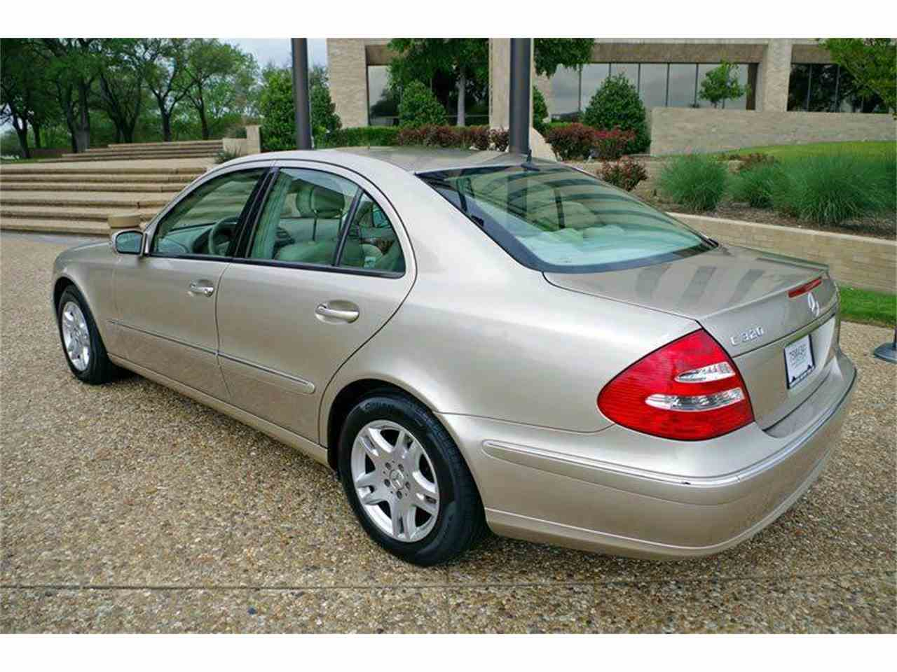 2003 mercedes benz e class for sale cc for Fort worth mercedes benz dealership