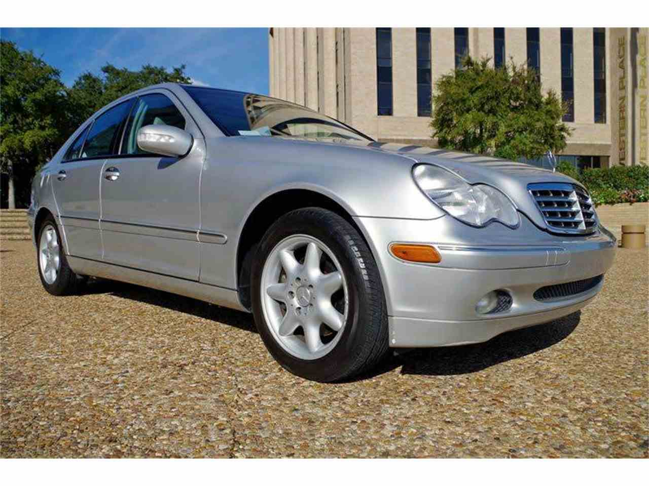 2004 mercedes benz c class for sale cc for Fort worth mercedes benz dealership