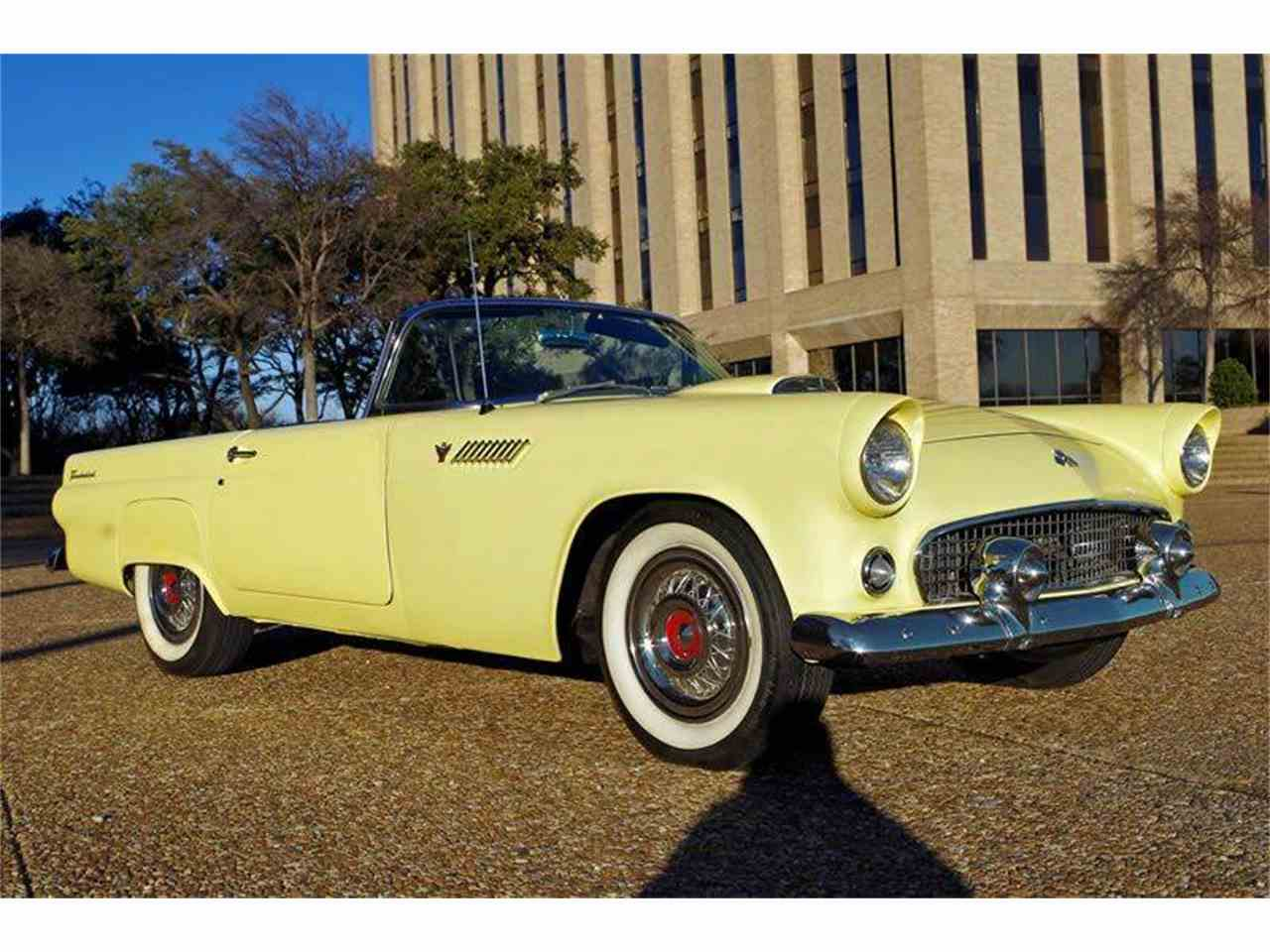 1955 ford thunderbird for sale cc 843949. Black Bedroom Furniture Sets. Home Design Ideas
