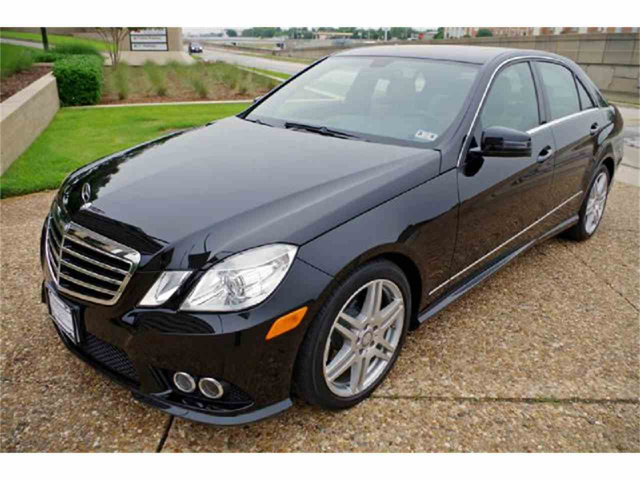 2010 mercedes benz e class for sale cc for Fort worth mercedes benz dealership