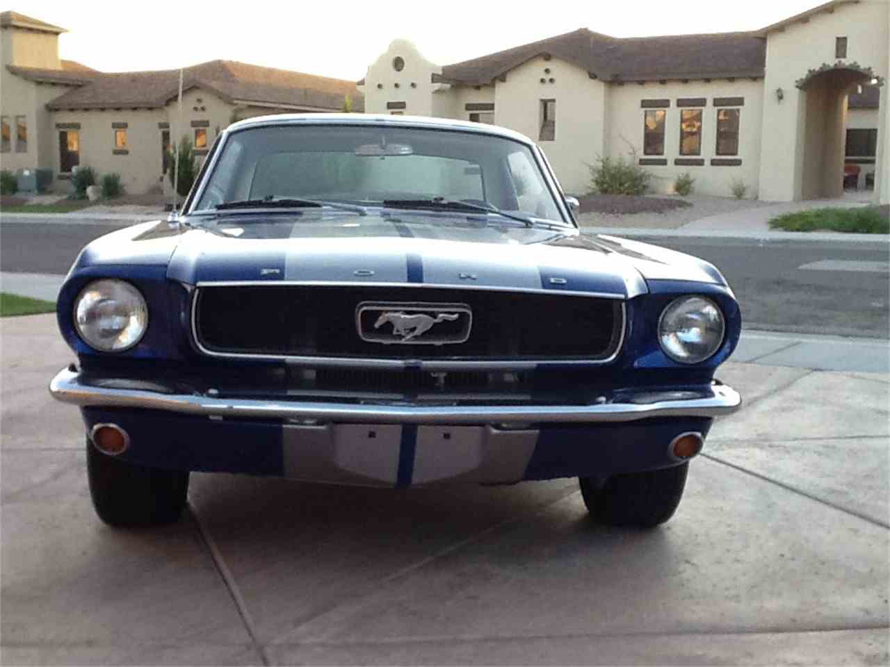 Large Picture of '66 Mustang - I37R