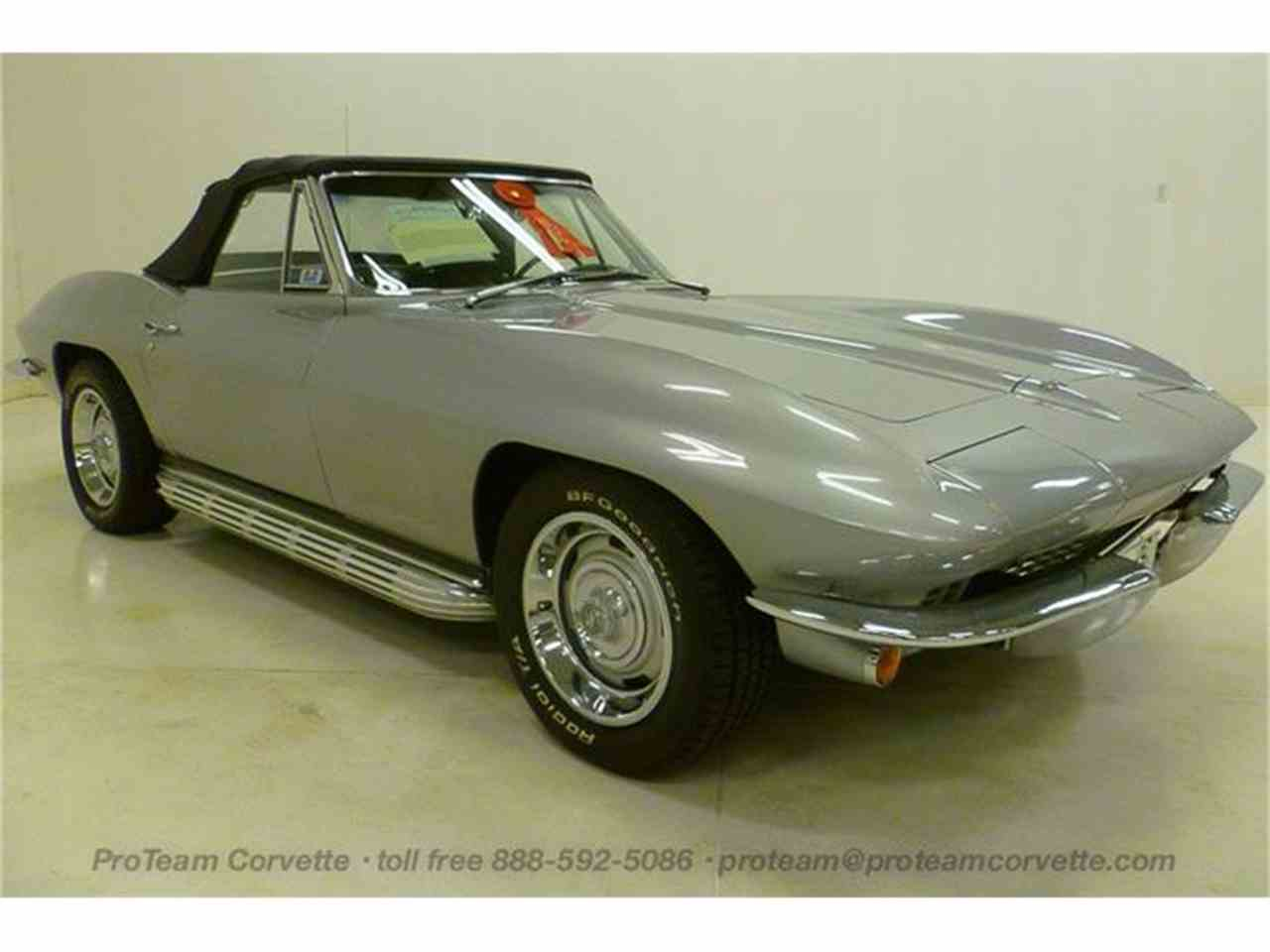 Large Picture of Classic 1967 Chevrolet Corvette located in Napoleon Ohio - $69,998.00 Offered by Proteam Corvette Sales - I43P