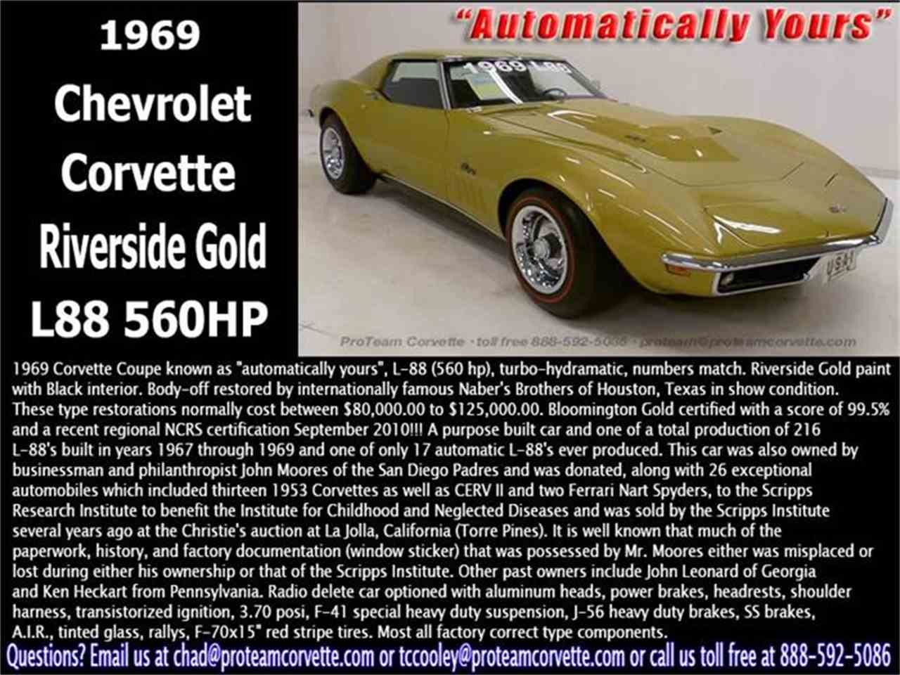Large Picture of '69 Corvette - I468