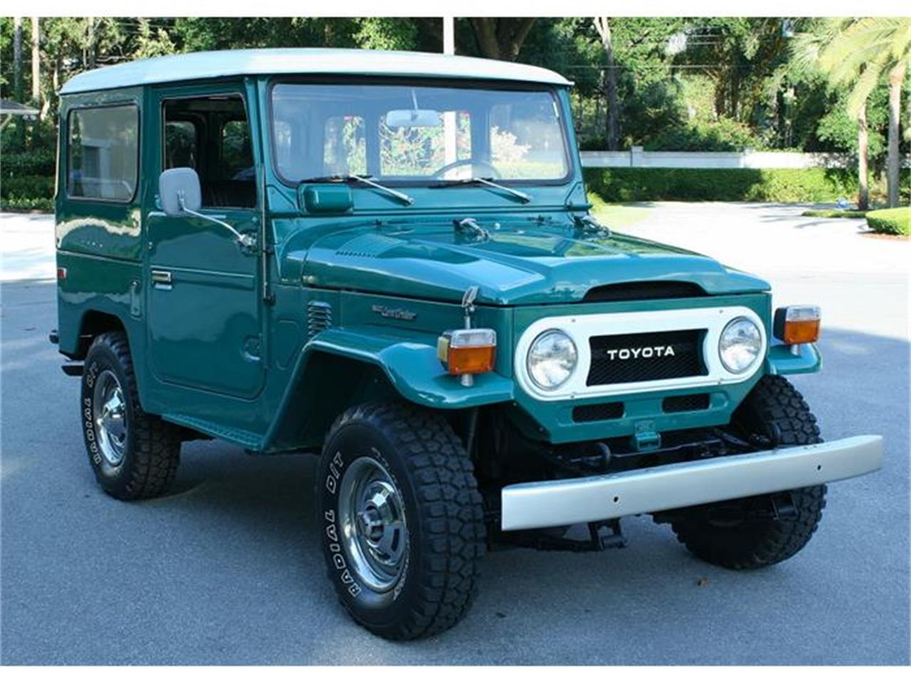 Large Picture Of 75 Land Cruiser FJ40