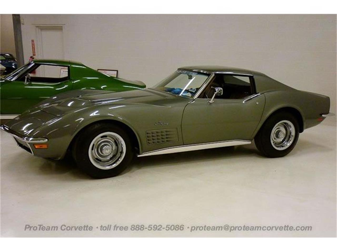 Large Picture of Classic '71 Chevrolet Corvette located in Ohio Auction Vehicle - I60K