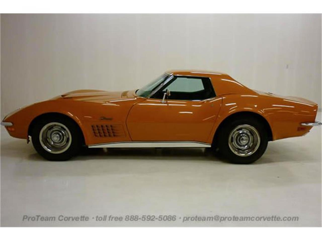 Large Picture of '71 Chevrolet Corvette located in Napoleon Ohio Auction Vehicle Offered by Proteam Corvette Sales - I7BK