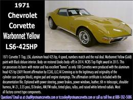 Picture of '71 Corvette - I7J8