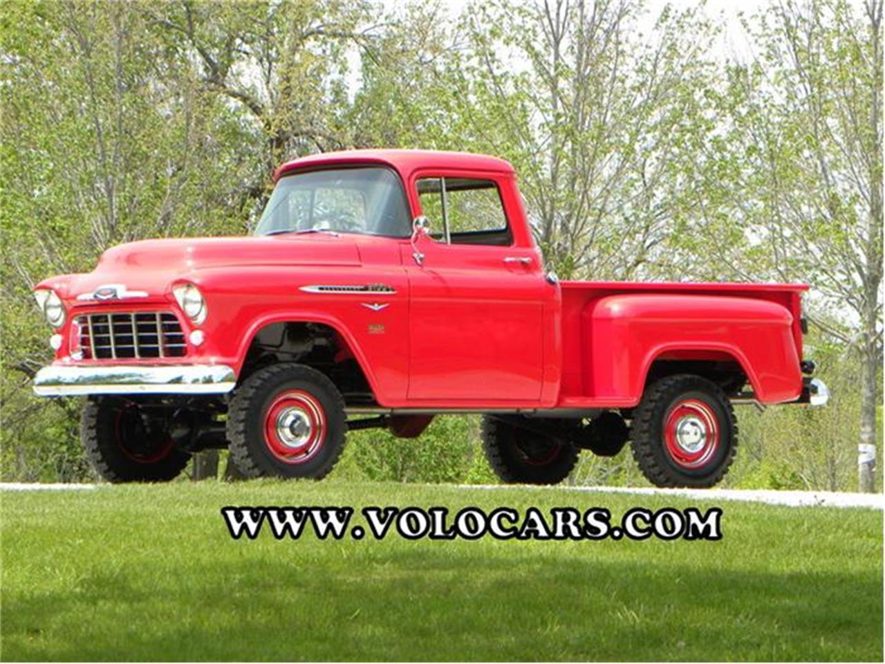 1956 Chevrolet 3100 napco 4x4 stepside pickup in Volo, Illinois