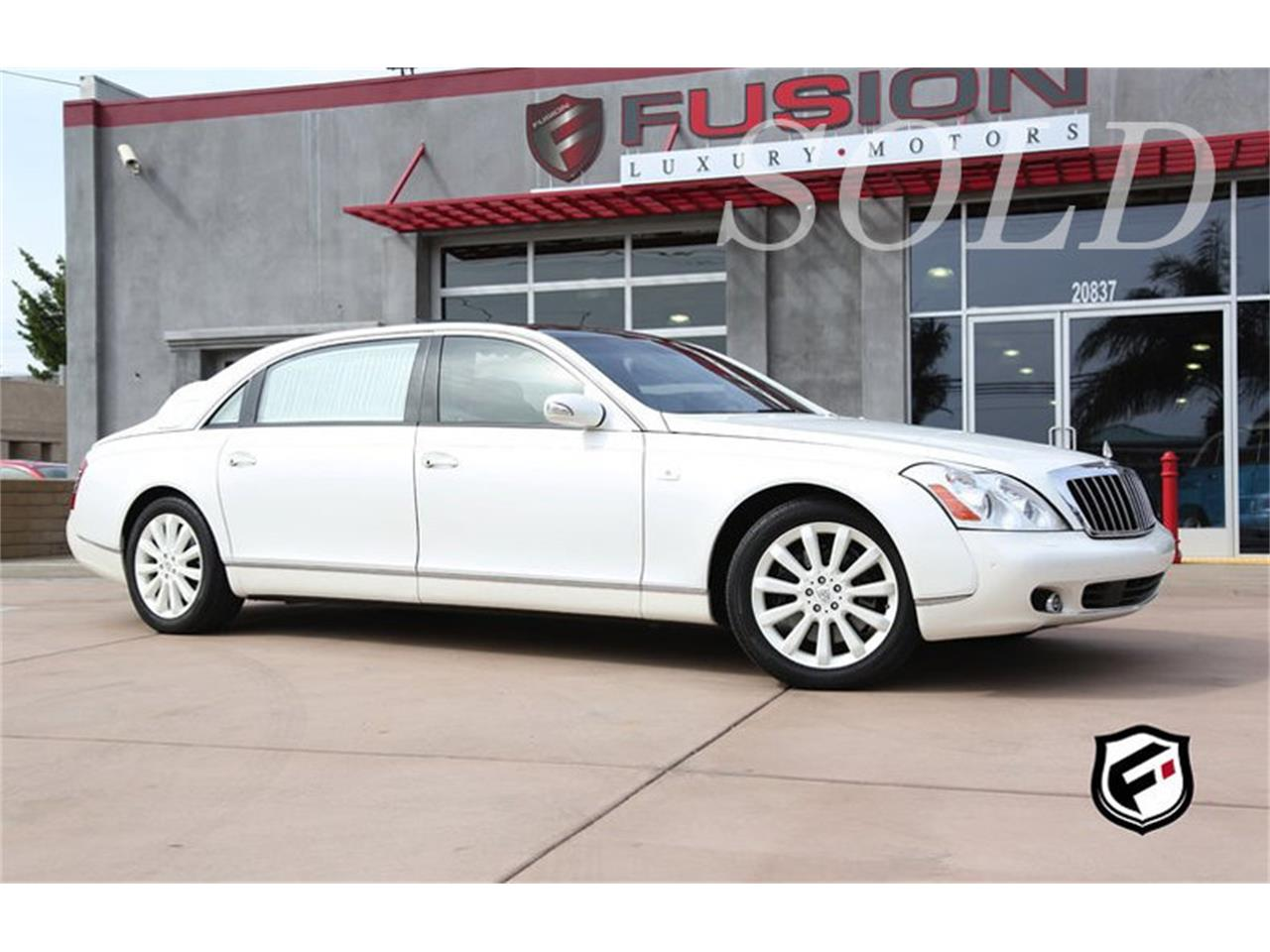 2009 maybach landaulet/62s convertible for sale | classiccars