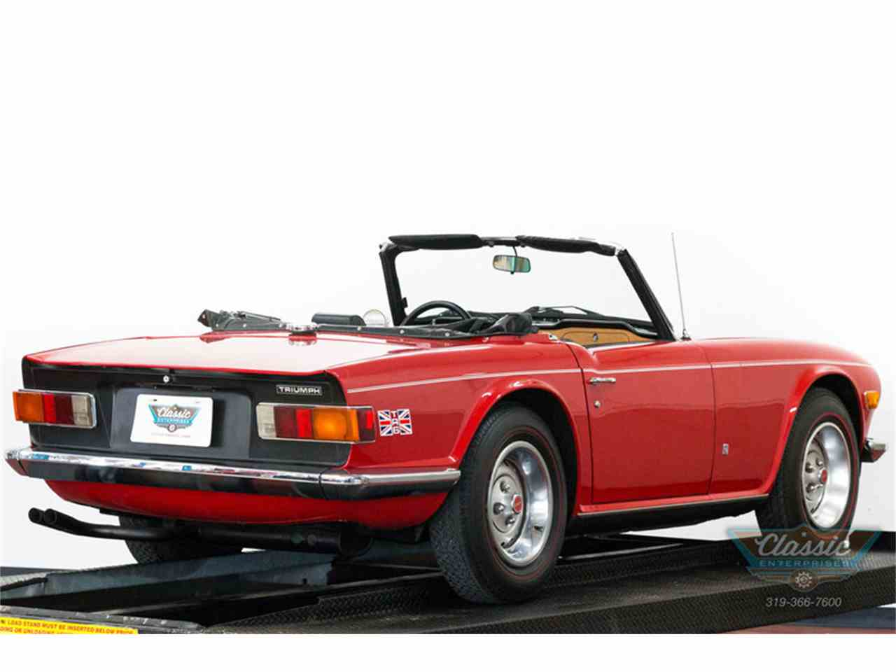 Large Picture of Classic 1973 TR6 - I82S