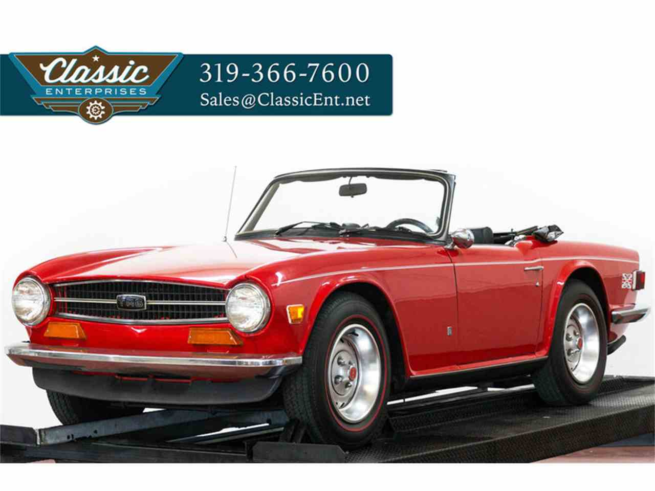1973 triumph tr6 for sale cc 850276. Black Bedroom Furniture Sets. Home Design Ideas