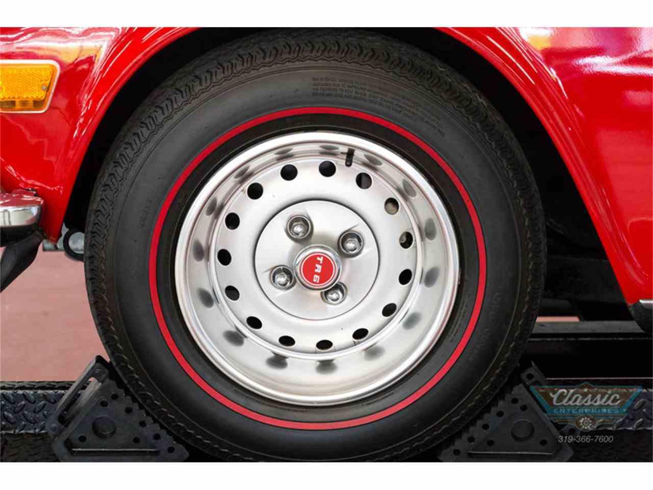 Large Picture of '73 TR6 located in Cedar Rapids Iowa - $20,950.00 - I82S