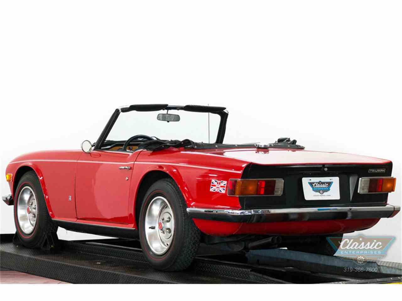 Large Picture of Classic 1973 TR6 located in Iowa - I82S