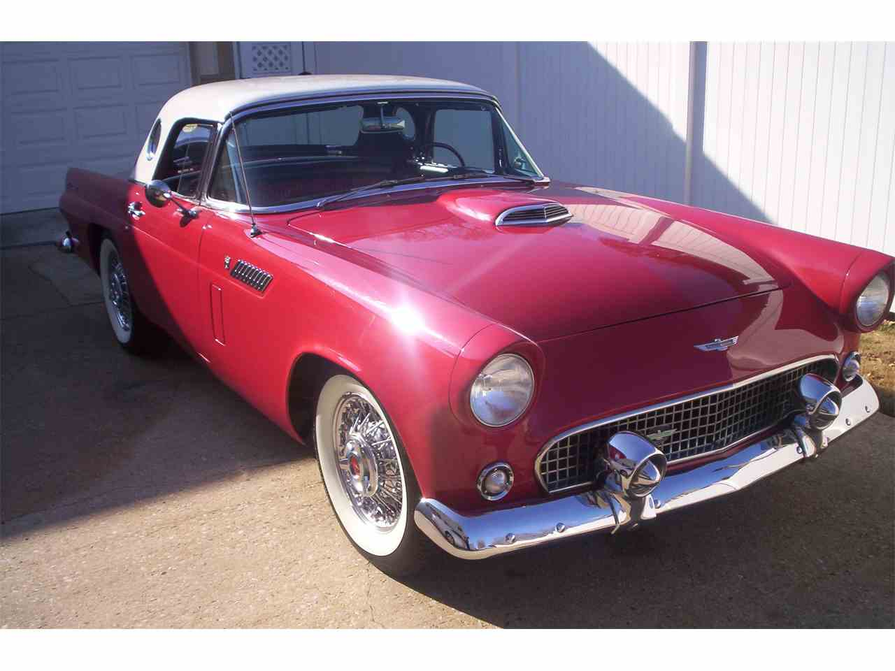 1956 ford thunderbird for sale cc 854861. Black Bedroom Furniture Sets. Home Design Ideas