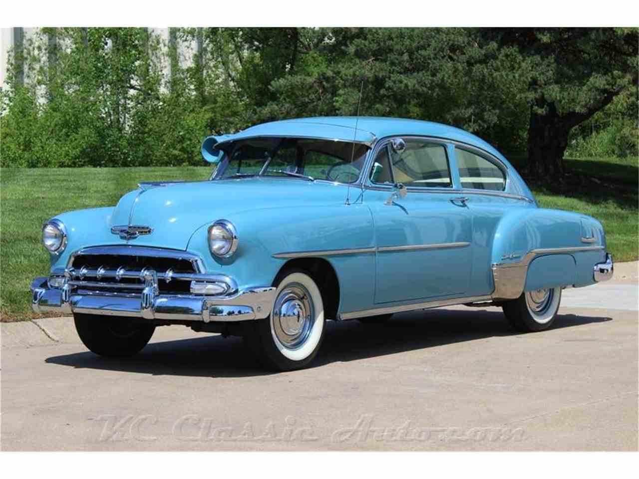 Chevrolet Bel Air Fleetline Deluxe Automatic Air Conditioner - Automatic classic cars