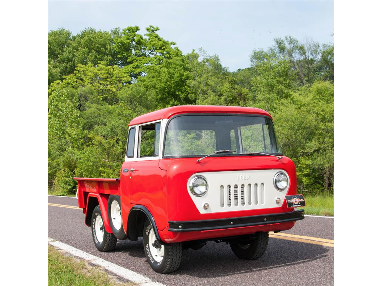 1958 Willys Jeep Fc150 For Sale Classiccars Com Cc 858985