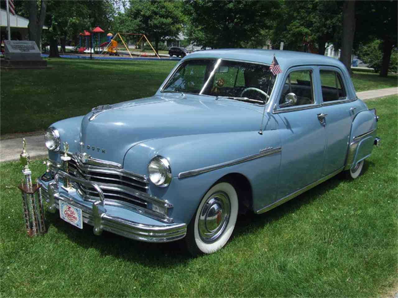 1949 plymouth special deluxe for sale cc 859039. Black Bedroom Furniture Sets. Home Design Ideas